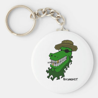 Captain Croc Key Ring