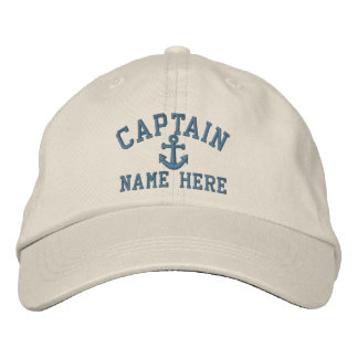 Captain - customizable embroidered cap