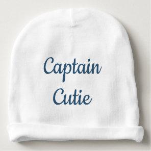 Captain Cutie Baby Beanie