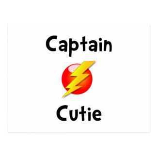 Captain Cutie Postcard