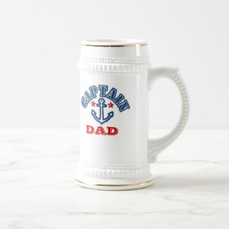 CAPTAIN DAD BEER STEIN