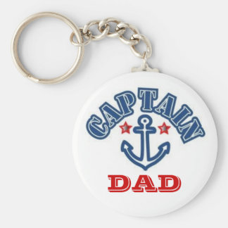 CAPTAIN DAD KEY RING