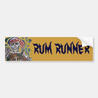 Captain Death Bumper Sticker
