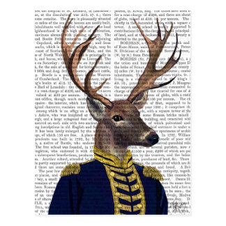 Captain Deer Postcard