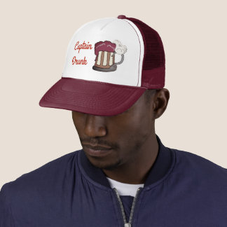 Captain Drunk Trucker Hat