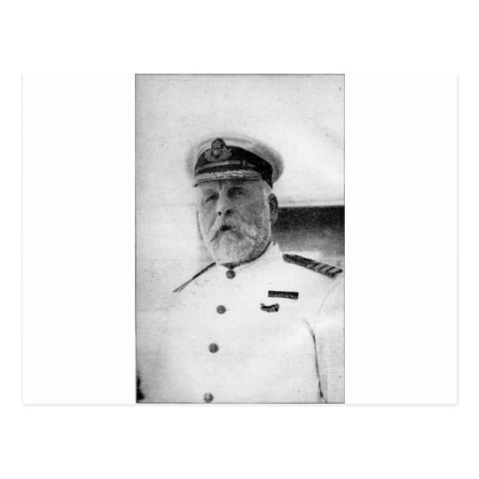 Captain EJ Smith of the Titanic Postcard