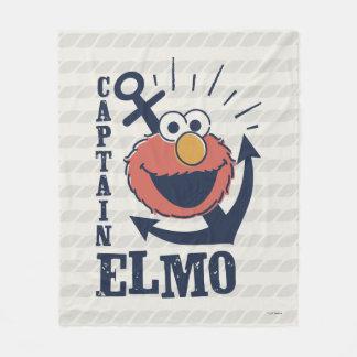 Captain Elmo Fleece Blanket
