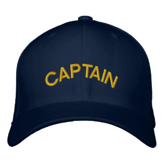 CAPTAIN EMBROIDERED HATS