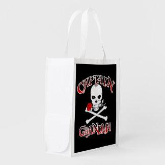 Captain Grandma Reusable Shopping Bag