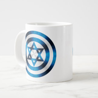 Captain Israel Hero Shield 20 Oz Large Ceramic Coffee Mug