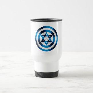 Captain Israel Hero Shield 15 Oz Stainless Steel Travel Mug