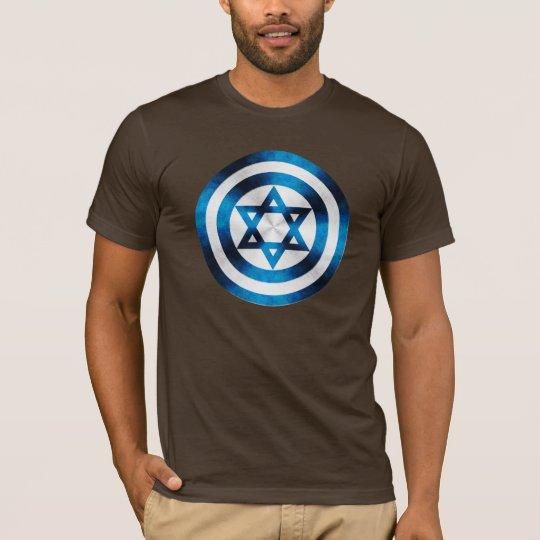Captain Israel Hero Shield T-Shirt