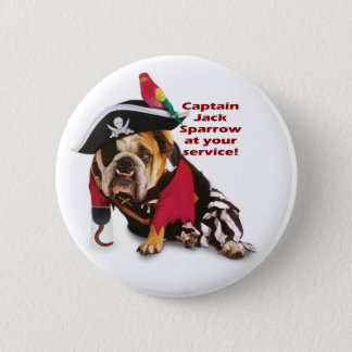 Captain Jack! 6 Cm Round Badge