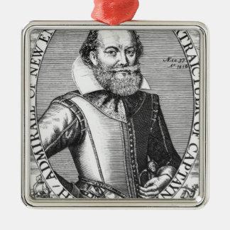 Captain John Smith  1st Governor of Virginia Christmas Ornament
