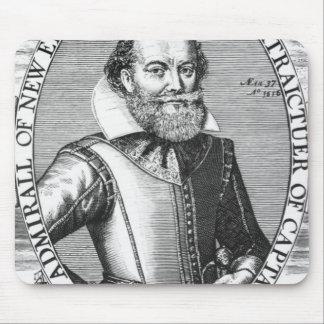 Captain John Smith  1st Governor of Virginia Mouse Pad