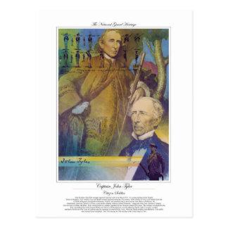 Captain John Tyler Citizen Soldier Postcard