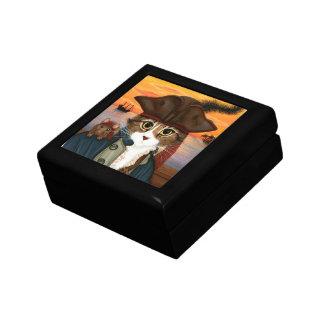 Captain Leo, Pirate Cat & Rat Fantasy Art Gift Box