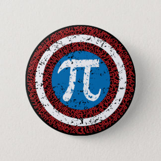 Captain Maths 6 Cm Round Badge