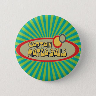 Captain MATZA BALLS 6 Cm Round Badge