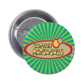 Captain MATZA BALLS Pinback Buttons