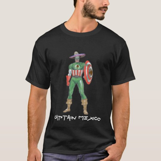 captain mexico, CAPTAIN MEXICO T-Shirt