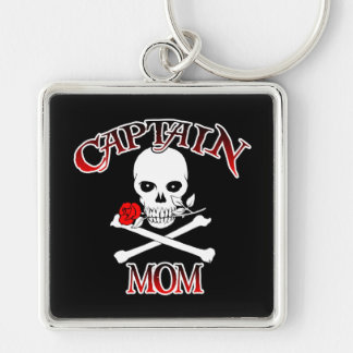 Captain Mom Key Ring