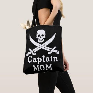Captain Mom Tote Bag