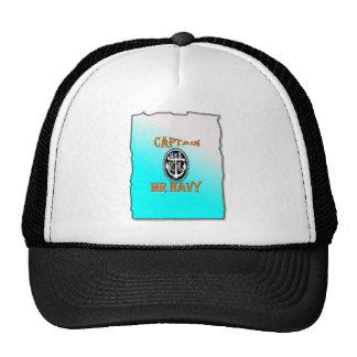 CAPTAIN Mr NAVY with Gradient Trucker Hat