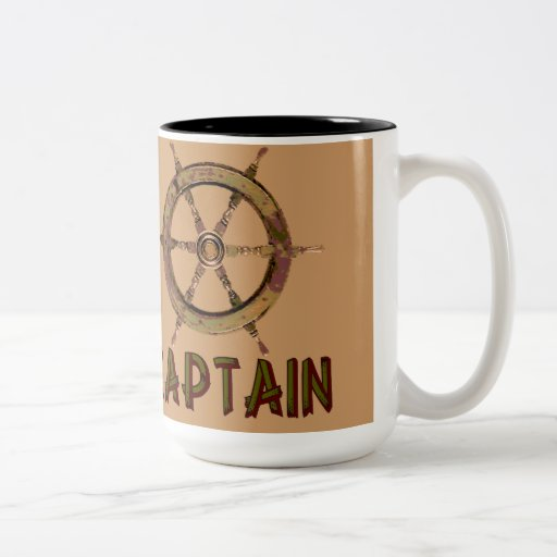 Captain Coffee Mugs