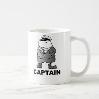 Captain Classic White Coffee Mug