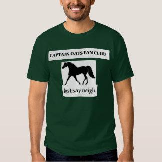 Captain Oats Fan Club Tee Shirt
