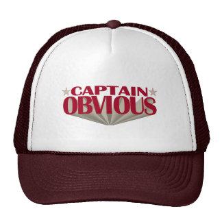 Captain Obvious Hats