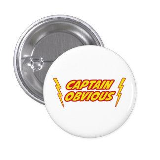 Captain Obvious Superhero 3 Cm Round Badge