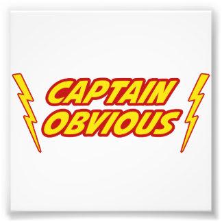 Captain Obvious Superhero Photo Art