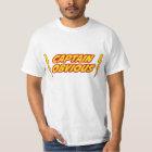 Captain Obvious Superhero T-Shirt