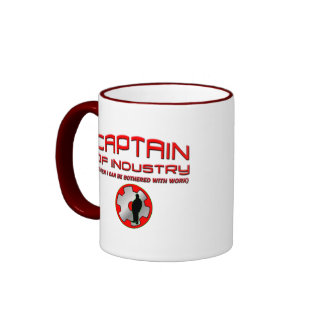 Captain of Industry Ringer Coffee Mug