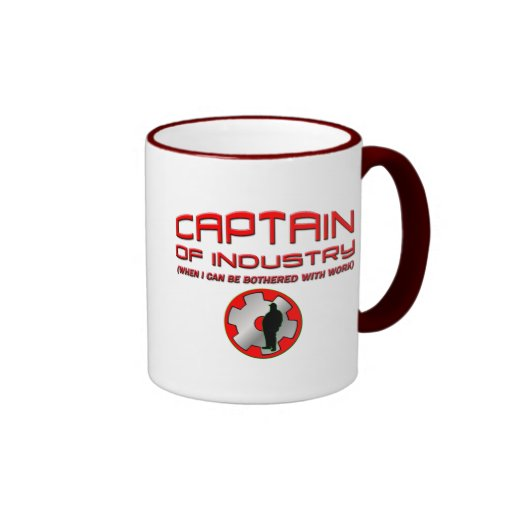 Captain of Industry Mugs