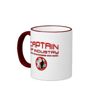 Captain of Industry Ringer Mug