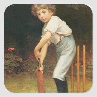 Captain of the Eleven c 1889 Stickers