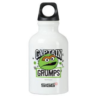 Captain Oscar Grumps Water Bottle