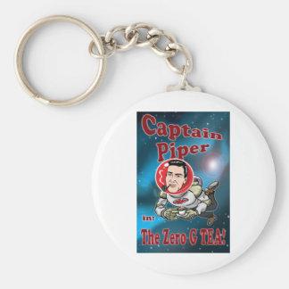 Captain Piper in ZERO G TEA! Key Ring