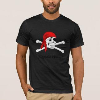 Captain Pirate American Apparel Poly-Cotton Blend T-Shirt