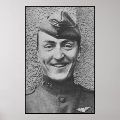Captain Rickenbacker -- Border Poster