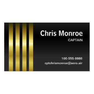 Captain s Stripes Business Card