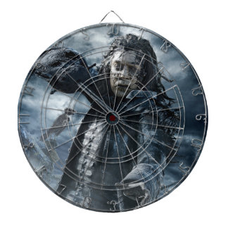 Captain Salazar - The Sea Is Ours! Dartboard With Darts