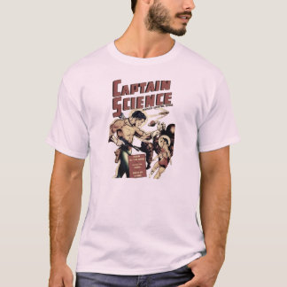 Captain Science #1 Artwork T-Shirt