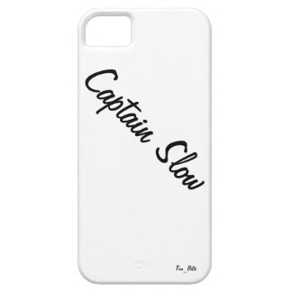 Captain Slow branded iPhone 5 case