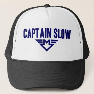 Captain Slow Trucker Hat