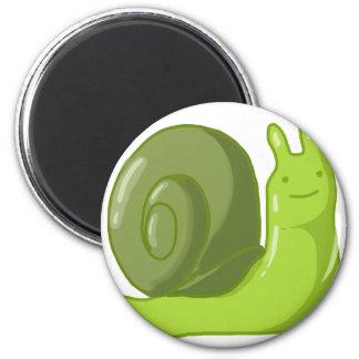Captain Snail 6 Cm Round Magnet