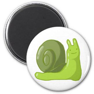 Captain Snail Fridge Magnet